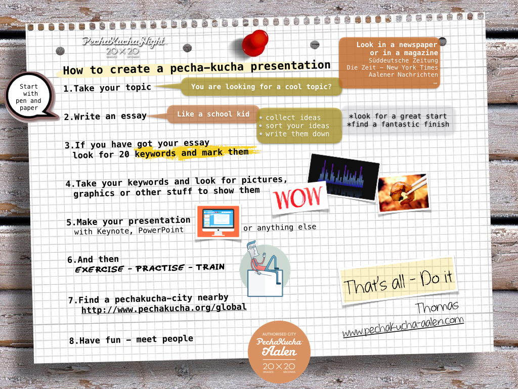 pecha kucha powerpoint template gallery - templates example free, Presentation templates